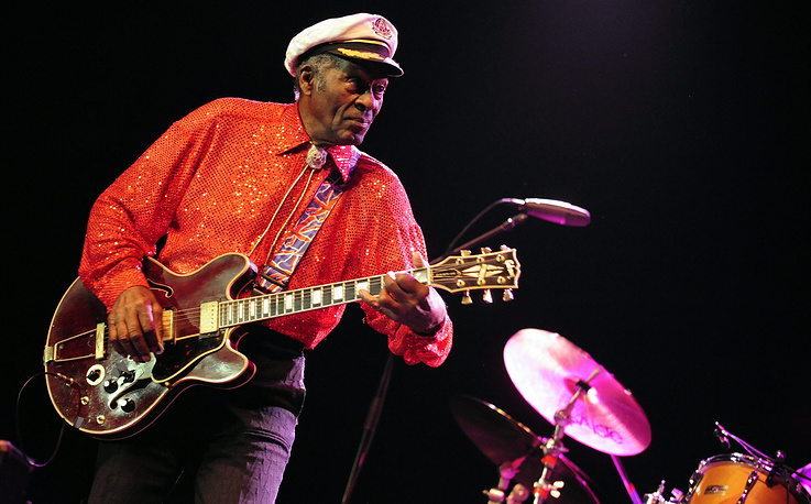 US Rock'n Roll legend Chuck Berry died on March 18. He was 90