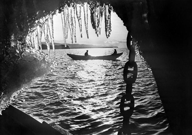 A view of Lake Baikal, the world's deepest lake, in spring, 1965