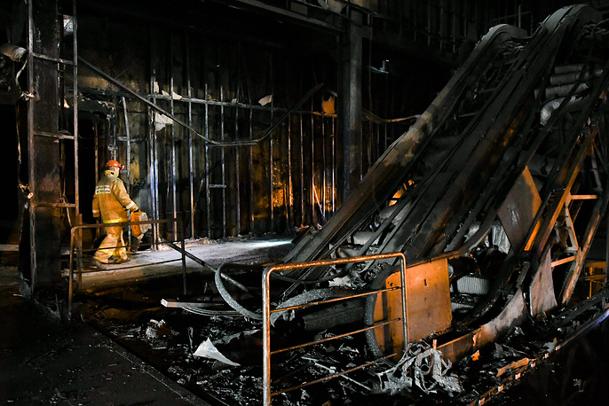 No alarms reported during Russian mall fire that killed 64