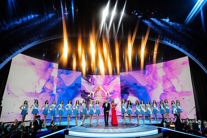 The final show of the 2018 Miss Russia National Beauty Contest