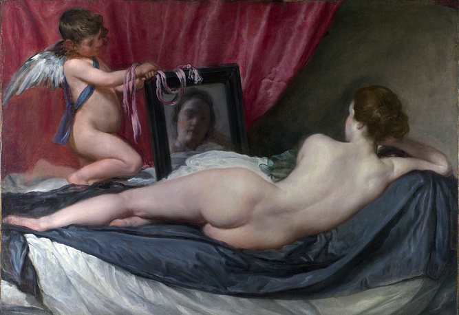 The Rokeby Venus by Diego Velázquez was nearly ripped to shreds in 1914 by militant suffragette Mary Richardson. She attacked Velazquez's canvas with a meat cleaver. The painting is in London's National Gallery now