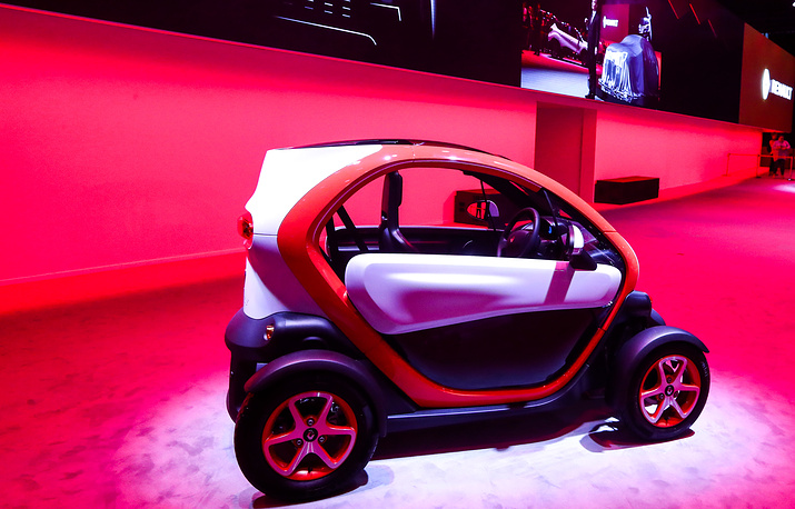 Renault Twizy two-seat electric car