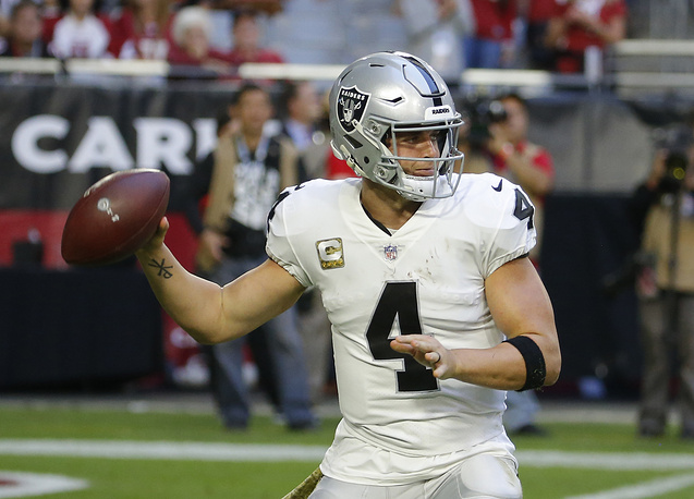American football quarterback Derek Carr ($42.1 million)