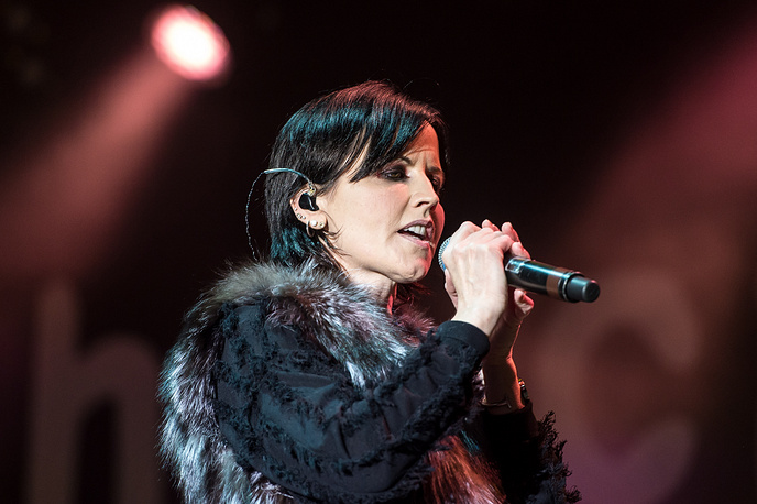 Irish singer and leader of The Cranberries Dolores O'Riordan died at 46 on January 15