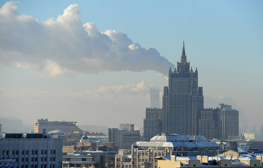 Russian Foreign Ministry building in Moscow ITAR-TASS/Sergei Karpov