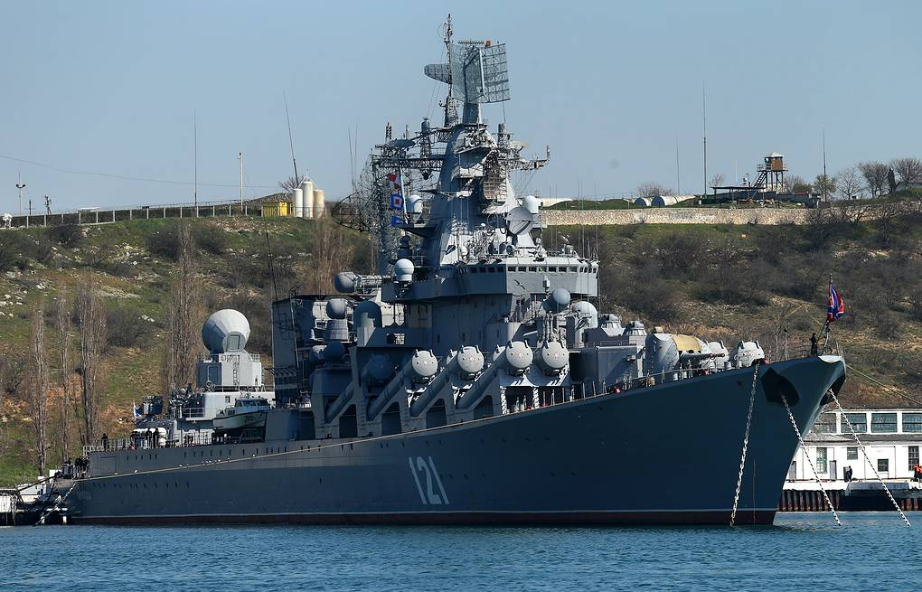 Missile cruiser Moskva of the Russian Black Sea Fleet (archive) ITAR-TASS/Valery Sharifulin