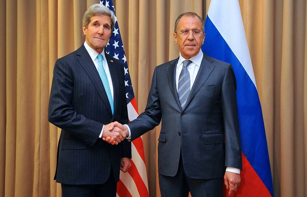 John Kerry and Sergei Lavrov (archive) EPA/US DEPARTMENT OF STATE / HANDOUT