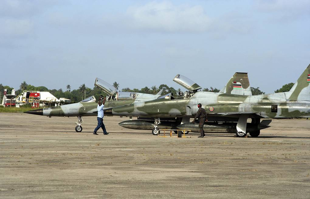 Kenyan Air Force fighters (archive) AP Photo, File