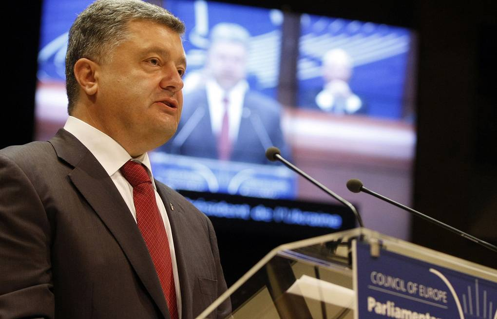 Ukraine's President Petro Poroshenko AP Photo/Christian Lutz