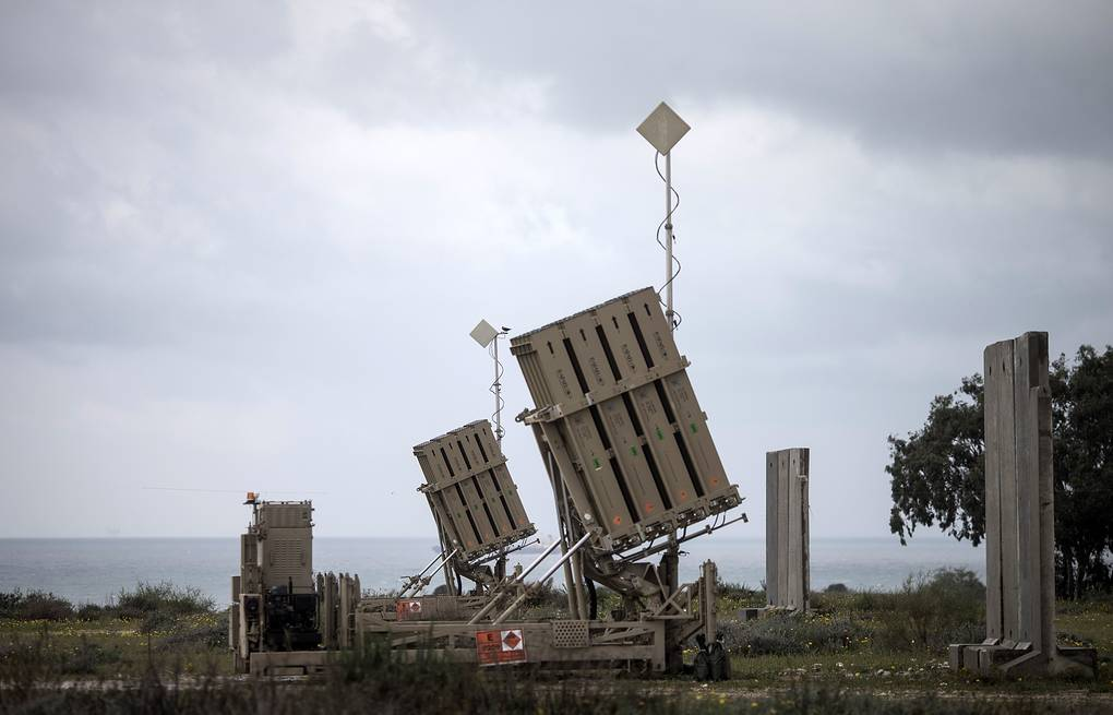 Iron Dome anti missile batteries in Israel EPA/OLIVER WEIKEN