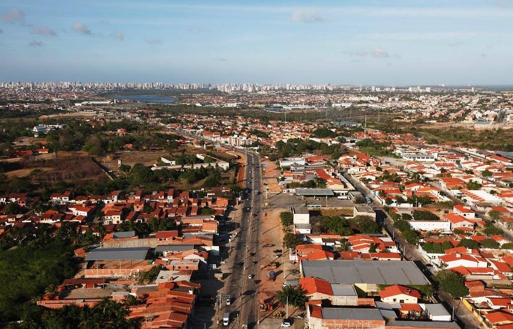 View of Fortaleza in Brazil where the BRICS business forum on inclusive economic growth kicks off on July 14 EPA/GERNOT HENSEL