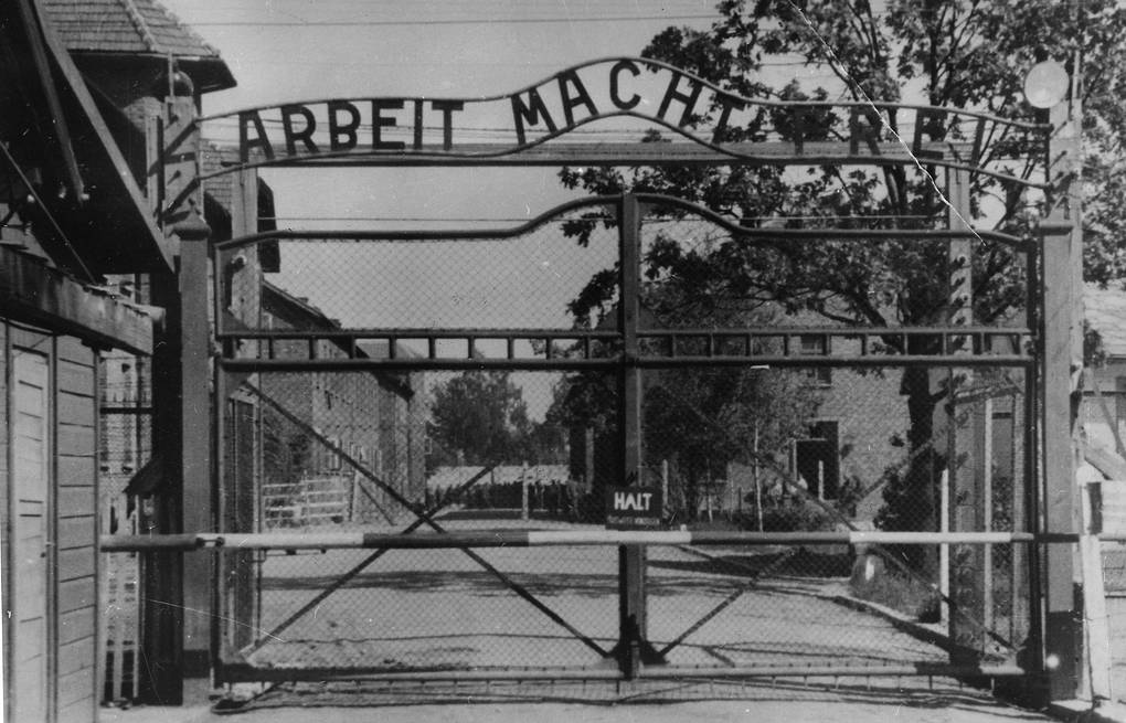 Main gate of the Nazi concentration camp Auschwitz  AP Photo/File