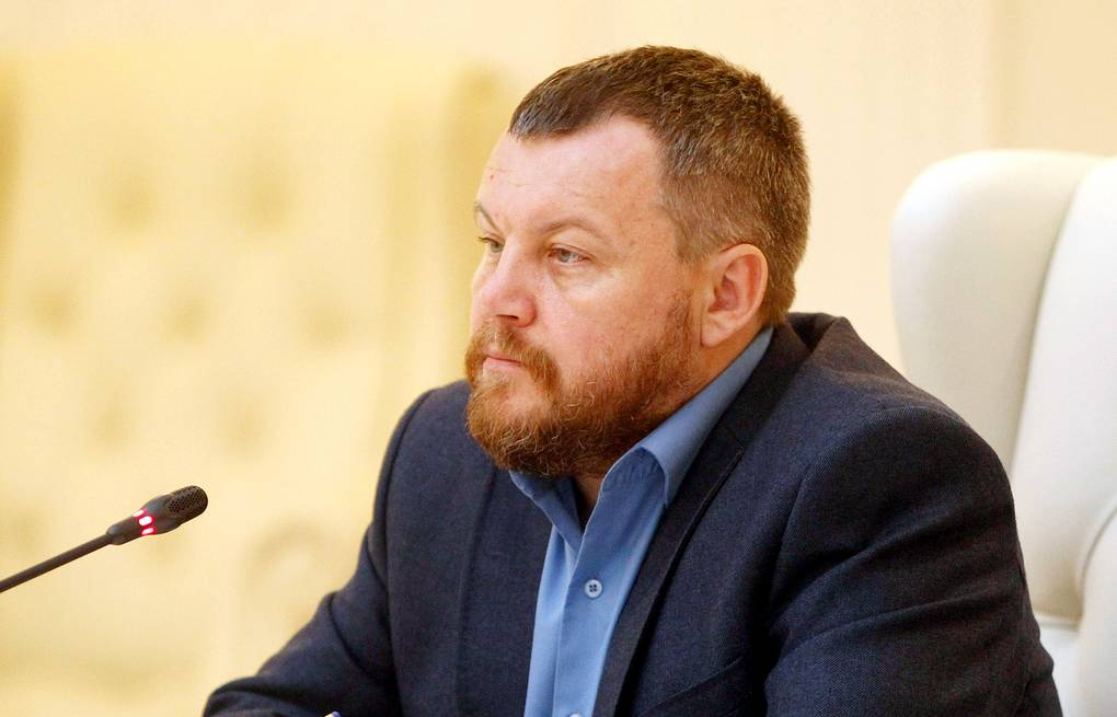People's council of the self-proclaimed Donetsk People's Republic (DPR) Andrey Purgin ITAR-TASS/BelTa/Natalia Ablozhey