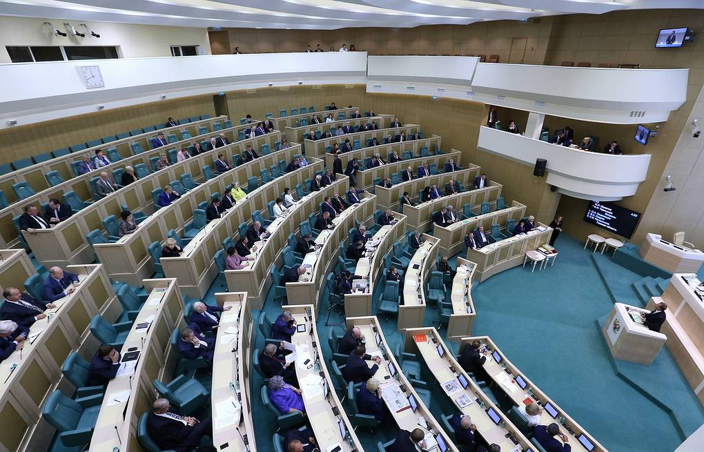 Federation Council, the upper house of Russia's parliament Valeriy Sharifylin/TASS