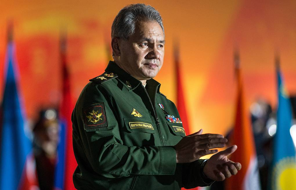 Defense Minister Sergei Shoigu Sergei Bobylev/Russian Defence Ministry Press Office/TASS