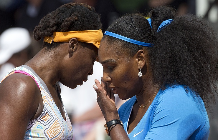 Serena and Venus Williams AP Photo/Peter Dejong