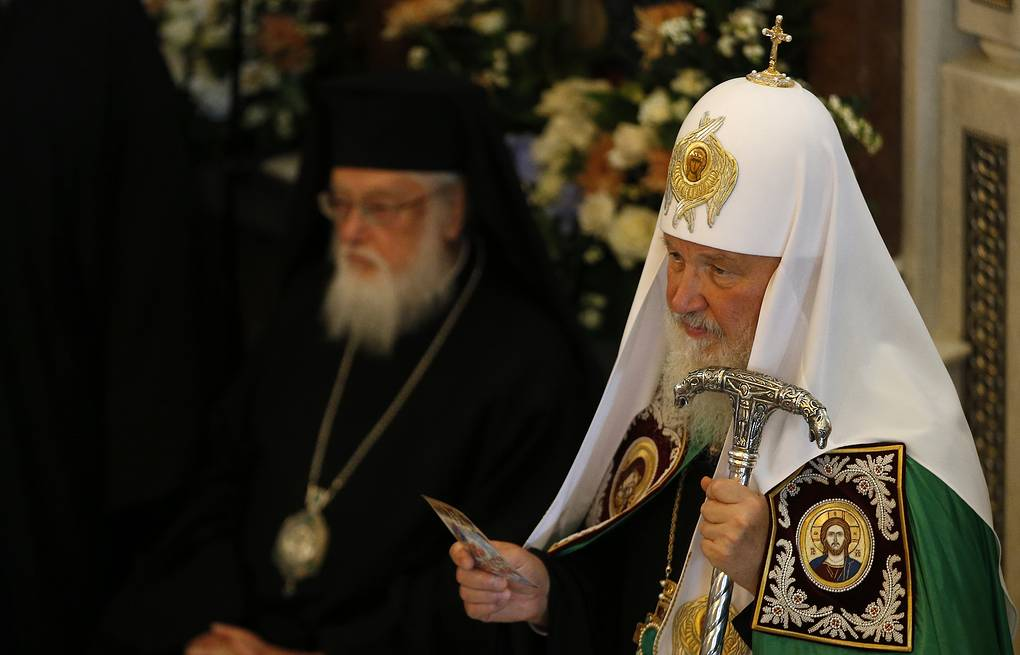 Patriarch Kirill of Moscow  AP Photo/Alastair Grant