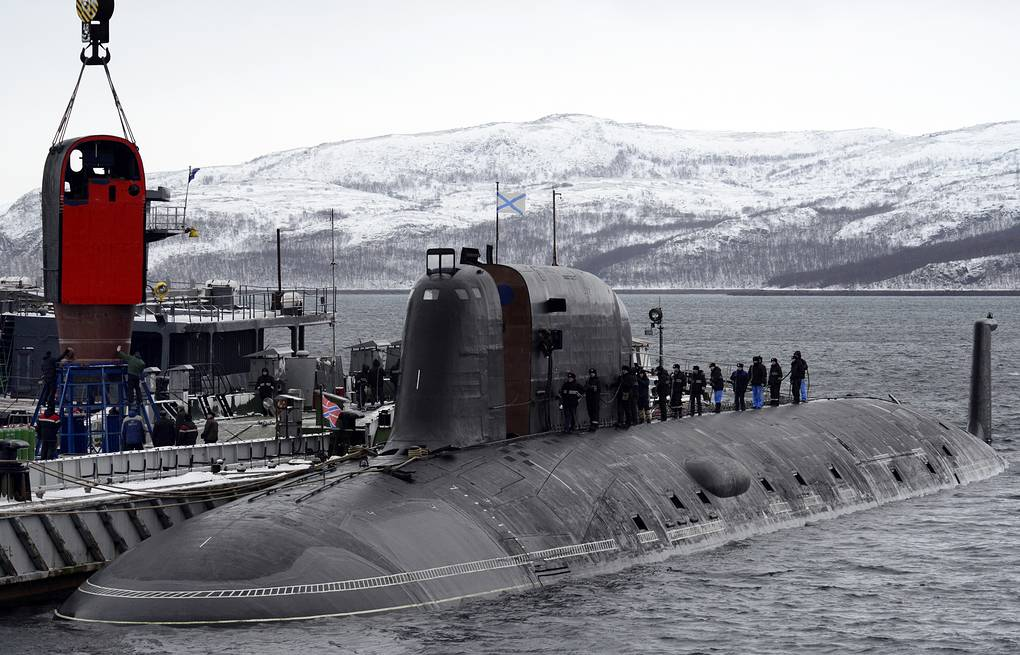 Project 885 nuclear submarine Lev Fedoseyev/TASS