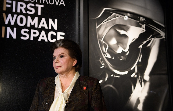 Valentina Tereshkova  Leon Neal/Getty Images