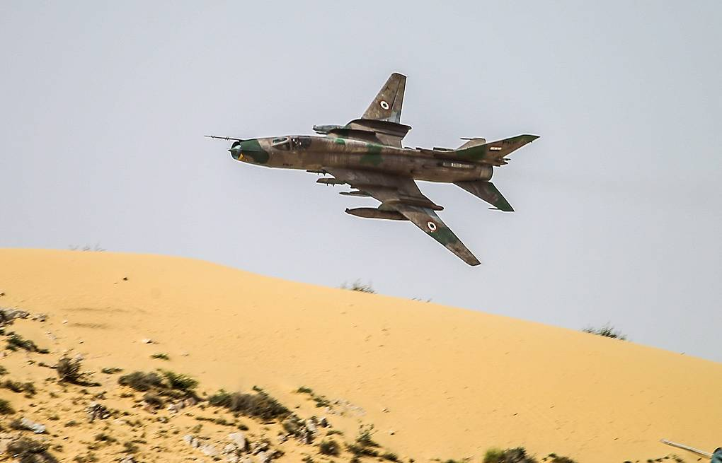 A Syrian Air Force jet  Valery Sharifulin/TASS