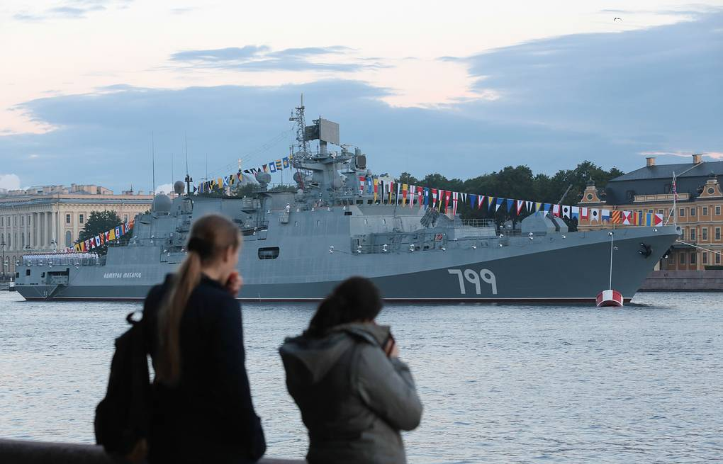 Project 11356 frigate Anatoly Medved/TASS