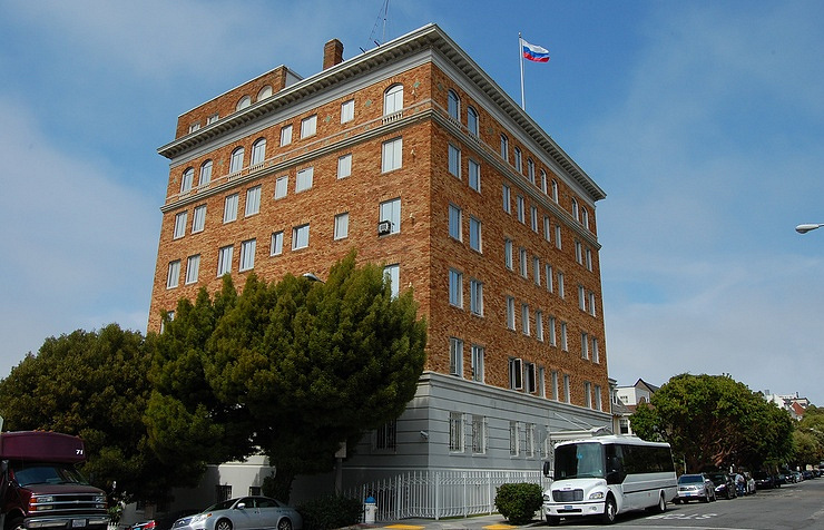 The Russian Consulate General in San Francisco Eugene Zelenko/wikipedia.org