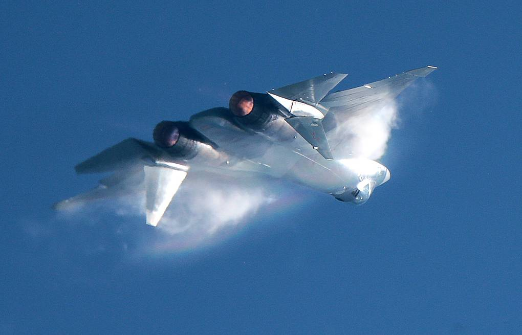 Su-57 fifth-generation fighter jet Sergei Bobylev/TASS