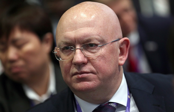Russian Permanent Representative to the United Nations Vasily Nebenzya Valery Sharifulin / TASS