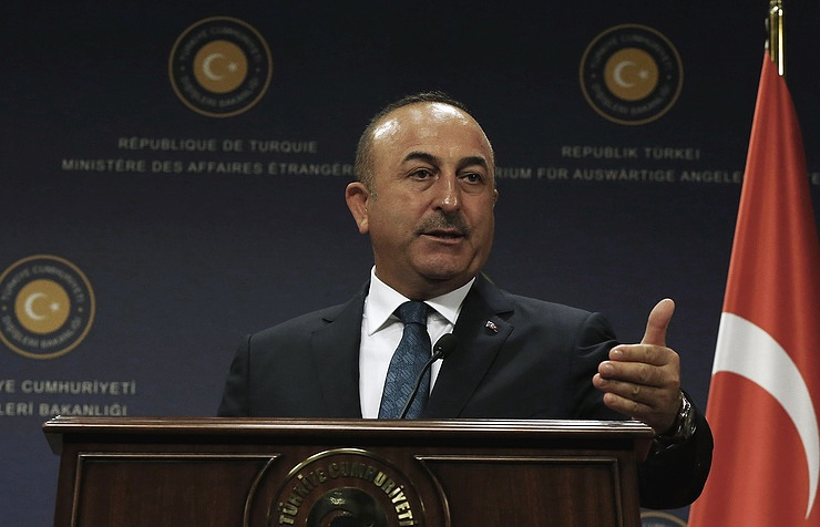 Turkish Foreign Minister Mevlut Cavusoglu AP Photo/Burhan Ozbilici
