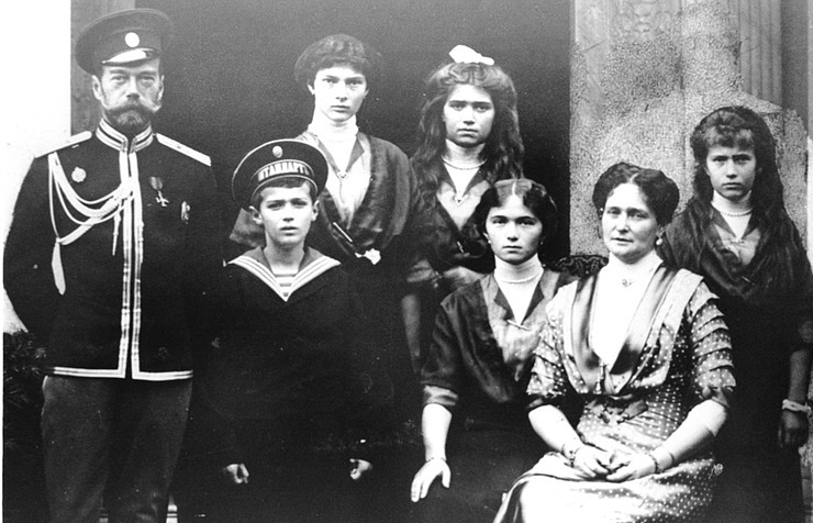 The Russian Royal family, 1915  TASS