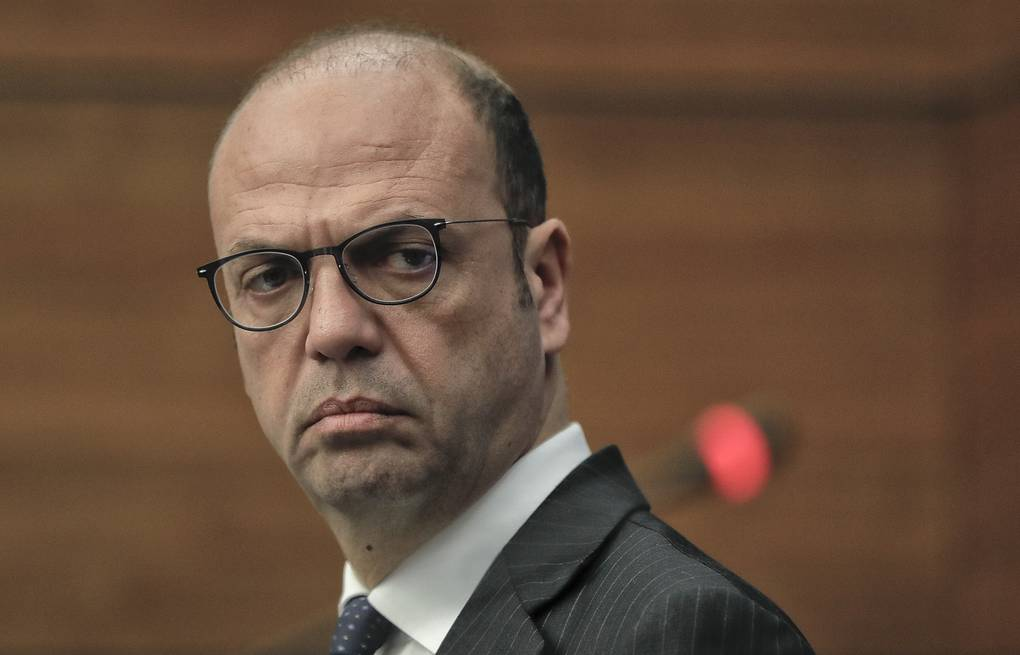 Italian Minister of Foreign Affairs Angelino Alfano AP Photo/Vadim Ghirda