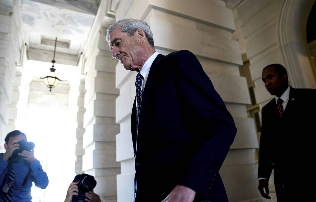 Special Counsel Robert Mueller AP Photo/Andrew Harnik
