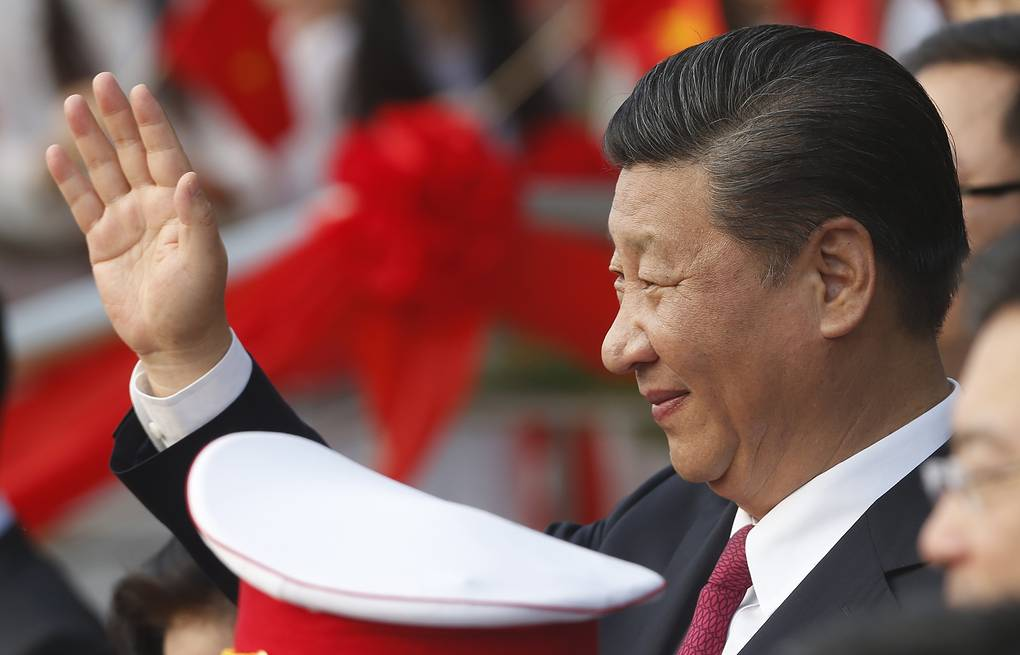 China's President Xi Jinping Kham/Pool Photo via AP