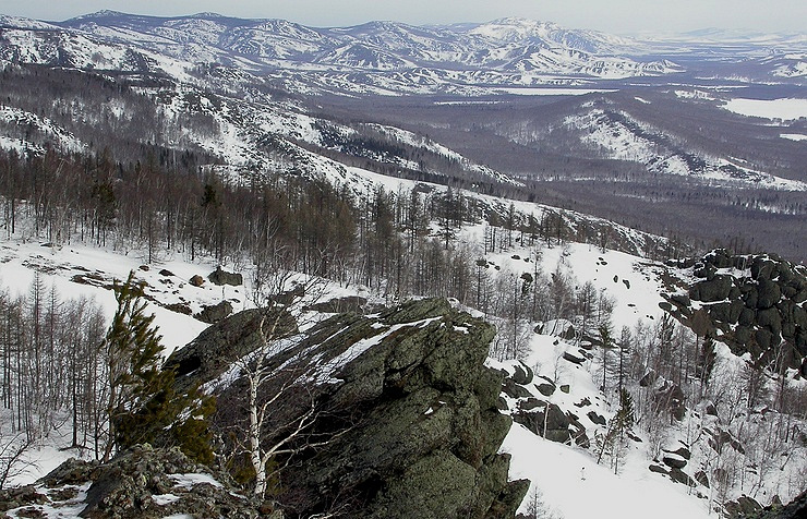 The Ural Mountains  Valery Bushukhin/TASS