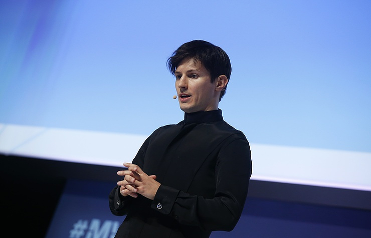 Telegram founder Pavel Durov  REUTERS/Albert Gea