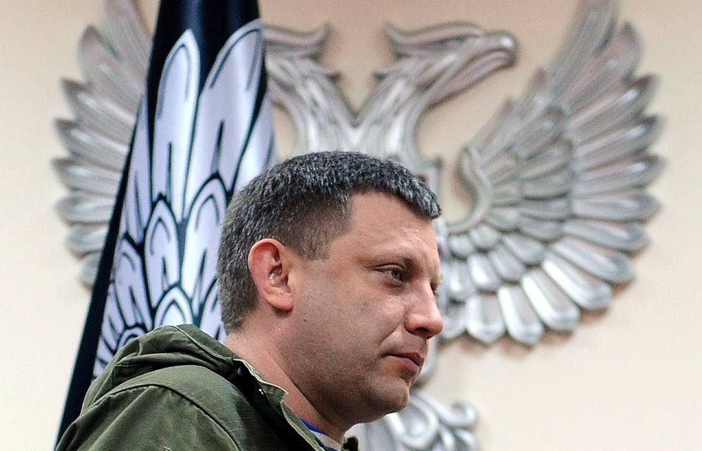 Alexander Zakharchenko, leader of the self-proclaimed Donetsk People's Republic Viktor Drachev/TASS