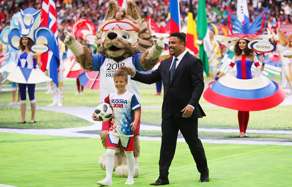 Fifa 2020 World Cup Opening Ceremony.Ronaldo Describes His Participation In World Cup Opening