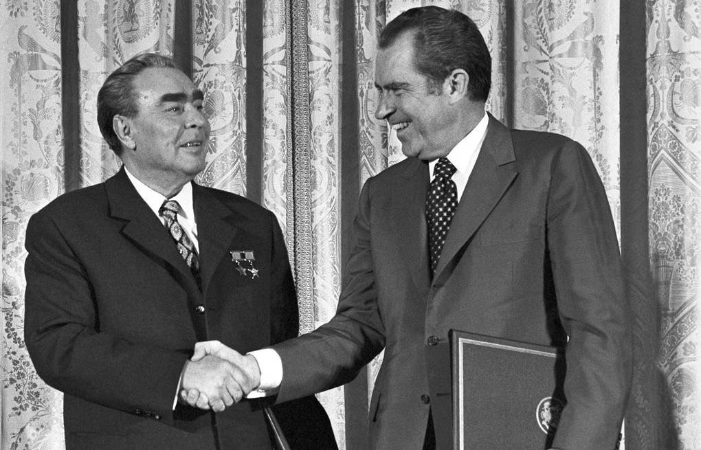 The 1973 Agreement on the Prevention of Nuclear War Musaelyan V., Sobolev V./TASS