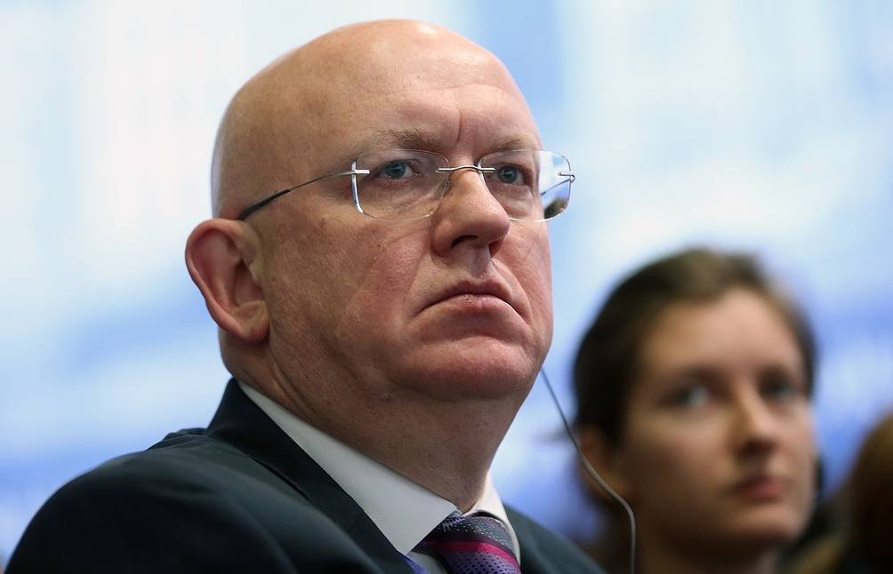 Russian Ambassador to the UN, Vasily Nebenzya Valery Sharifulin/TASS
