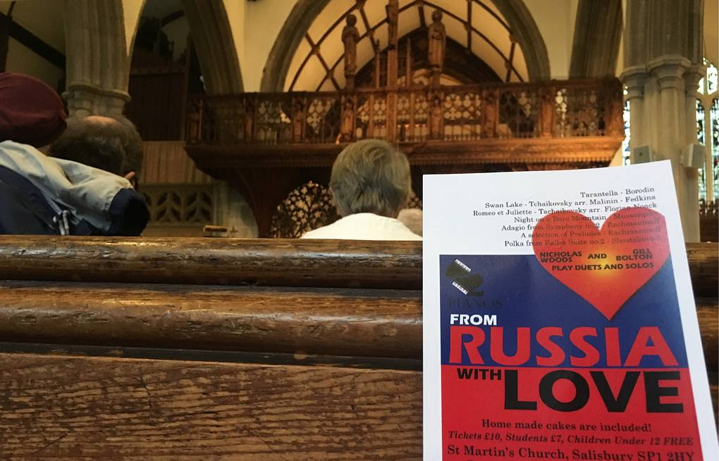 Music without politics: concert of Russian classical music