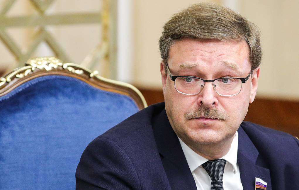 The chairman of the Russian Federation Council's Committee for International Affairs Konstantin Kosachev Sergei Bobylev/TASS