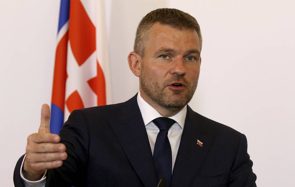 Slovak Prime Minister Peter Pellegrini AP Photo/Ronald Zak
