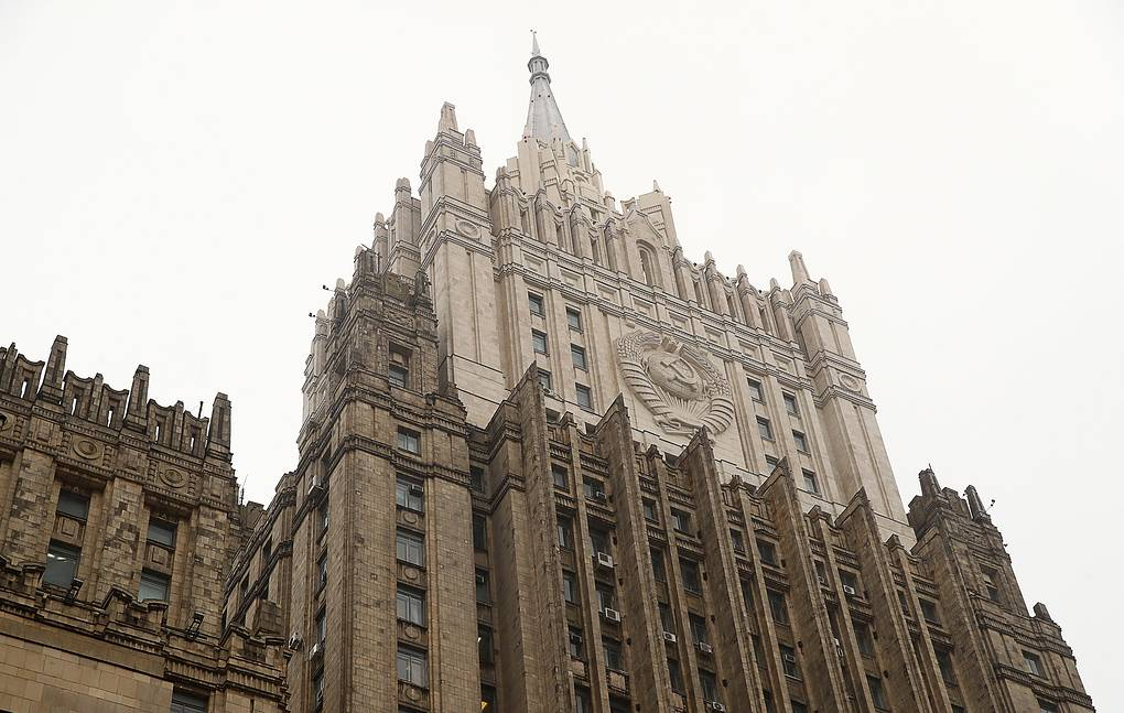 The Russian Foreign Ministry Valery Sharifulin/TASS