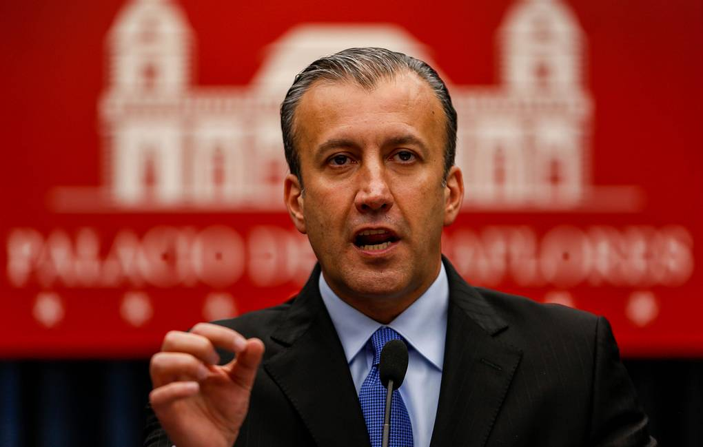 Venezuelan Minister of National Industries and Industrial Production Tareck El Aissami EPA-EFE/Cristian Hernandez