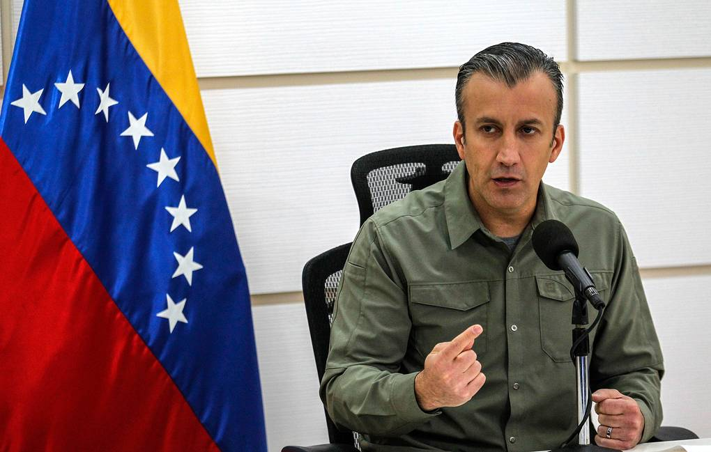 Venezuelan Minister of Industries and National Production Tarek El Aissami EPA-EFE/Cristian Hernandez