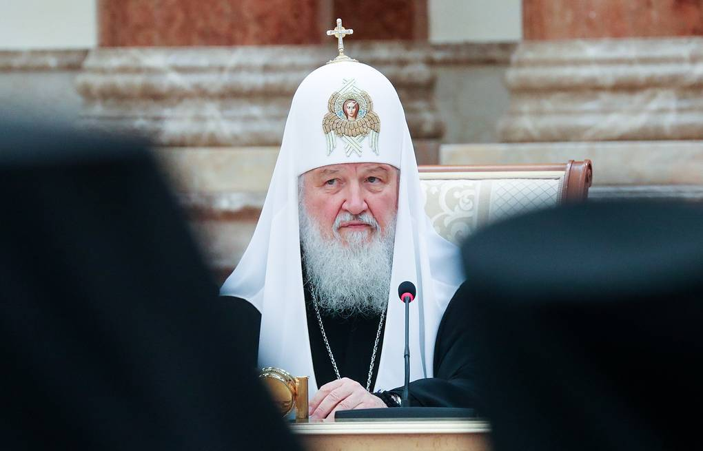 Patriarch Kirill of Moscow and All Russia Nikolai Petrov/BelTA/TASS