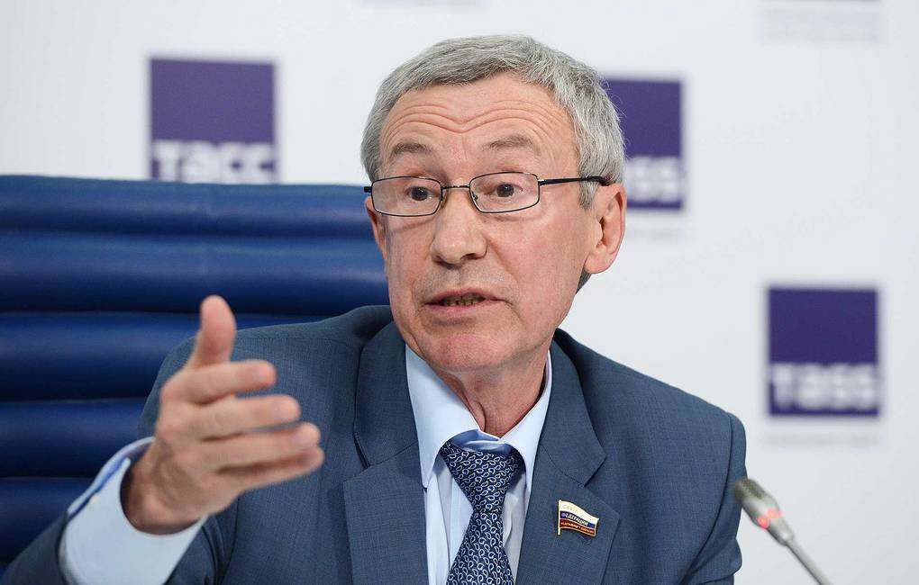Deputy Chairman of Russia's Federation Council Foreign Affairs Committee Andrei Klimov Nikolai Galkin/TAS
