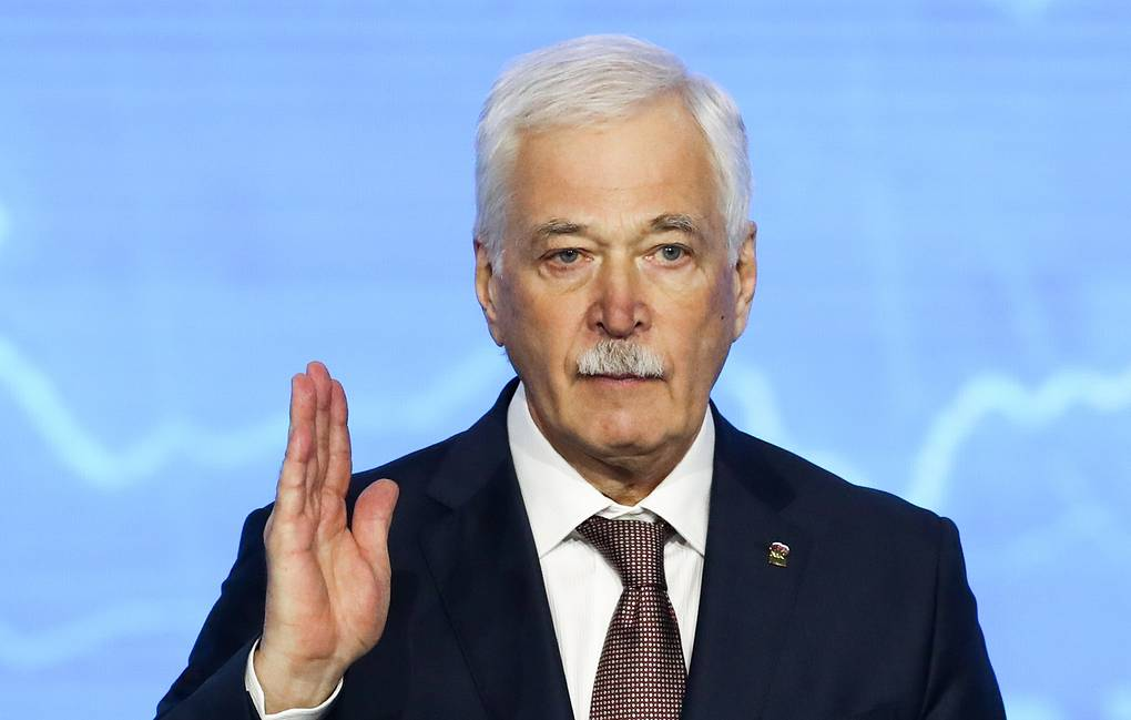 Russia's envoy to the Contact Group Boris Gryzlov Stanislav Krasilnikov/TASS