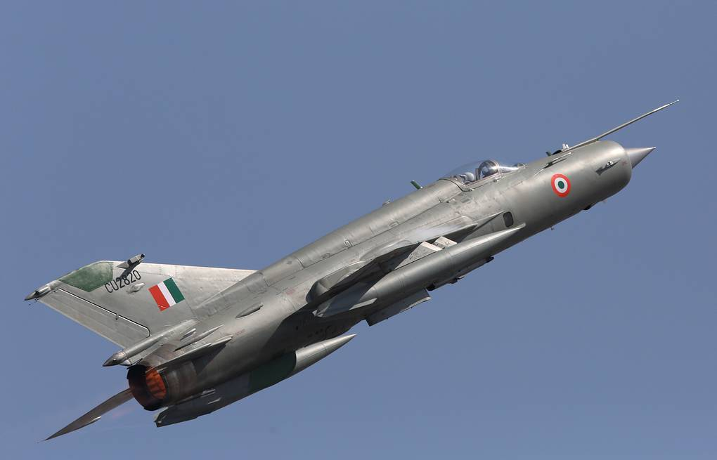 India's MiG-21 upgraded by Russia equal to Pakistan's F-16