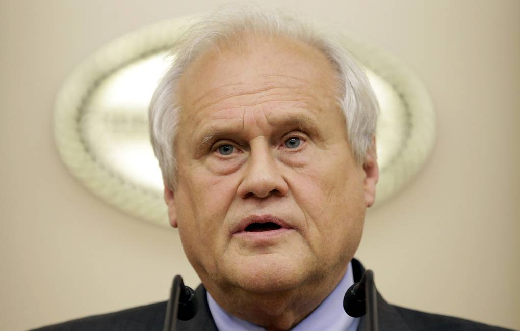 OSCE's special representative at the Contact Group Martin Sajdik EPA/TATYANA ZENKOVICH